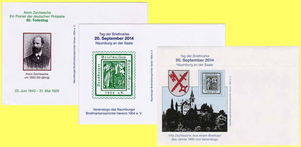 Tag der Briefmarke in Naumburg - 20. September 201